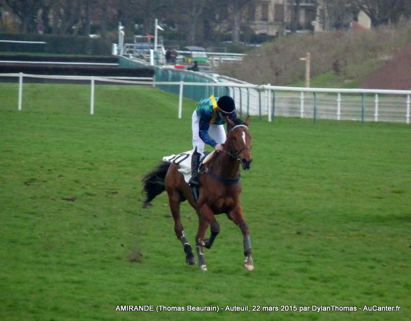 Photos Auteuil 22/03/2015 Amirande